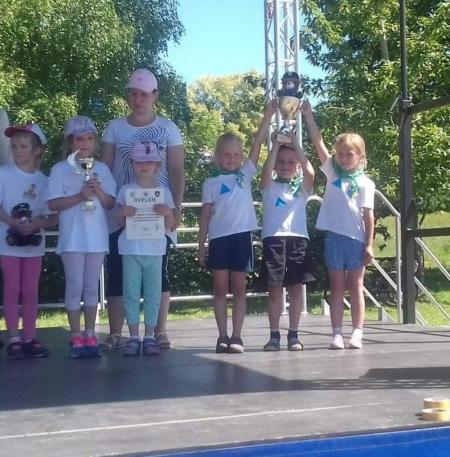III miejsce w Olimpiadzie Sportowej dla Przedszkolaków