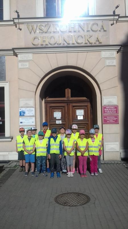 Wycieczka pierwszej klasy do Chojnic