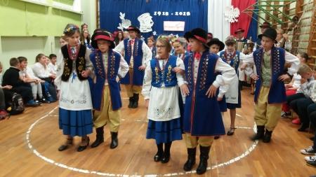 Występ kaszubski z okazji Dnia Niepodległości